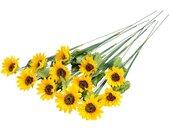 Botanic-Haus Kunstblume »Sonnenblume« Sonnenblume, Höhe 65 cm, gelb