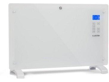 Klarstein Konvektions-Heizgerät Thermostat Timer 2000W 30m² weiß »Norderney 2000W«, weiß, weiß