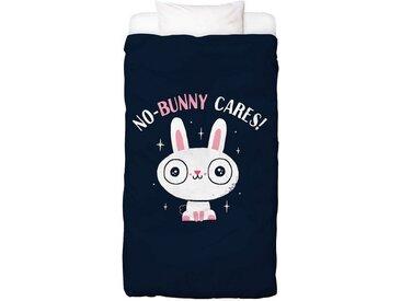 Juniqe Bettwäsche »No-Bunny Cares«, In vielen weiteren Designs erhältlich, 1 St. x 135 cm x 200 cm