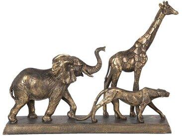 Clayre & Eef Tierfigur » Dekofigur wilde Tiere 44*10*33 cm«