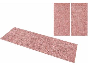 Home affaire Bettumrandung »Shaggy 30« , höhe 30 mm, rosa, rosa