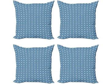 Abakuhaus Kissenbezug »Modern Accent Doppelseitiger Digitaldruck«, Ethnisch Azulejo Fliesen Muster