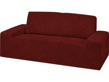 Dohle&Menk Sofahusse »Teide«, monoelastische Stretchware mit hohem Baumwollanteil, rot, 2-Sitzer, bordeaux
