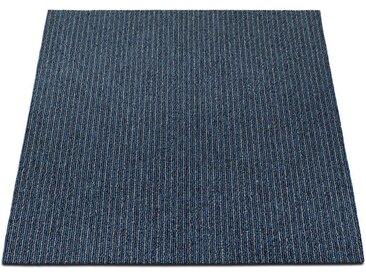 casa pura Teppichfliese »Bohemia«, Quadratisch, Höhe 6 mm, Selbstliegend, blau, Blau 04