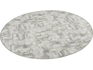 Snapstyle Designteppich »Designerteppich Trend Rund«, Rund, Höhe 4 mm