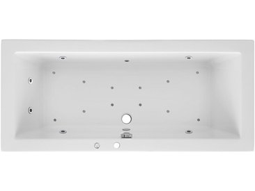 OTTOFOND Whirlpoolwanne »Cubic«, B/T/H in cm: 180/80/62,5; Whirlpool-System Premium, 180 cm