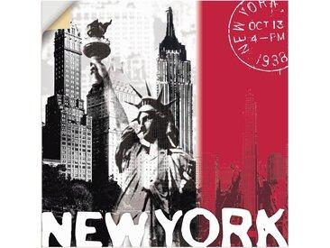 Artland Wandbild »New York«, Gebäude (1 Stück), in vielen Größen & Produktarten - Alubild / Outdoorbild für den Außenbereich, Leinwandbild, Poster