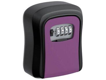 BASI Schlüsseltresor »SSZ 200 Schlüsselsafe mit Zahlenkombination«, 0,49 kg, lila, lila