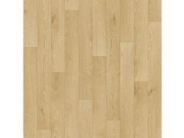Andiamo ANDIAMO Packung: Vinylboden »Impression«, Breite 300 und 400 cm, Meterware, Stabparkett, natur, natur/hellgrau