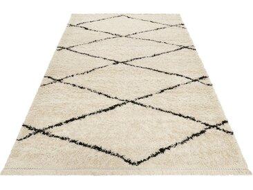Wecon home Hochflor-Teppich »STUDIO one«, rechteckig, Höhe 35 mm, Wohnzimmer, Berber Optik