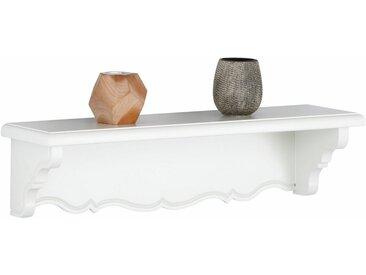 Premium collection by Home affaire Wandregal »Katarina«, mit schöner geschwungener Borte, in zwei verschiedenen Breiten und Farbvarianten, natur