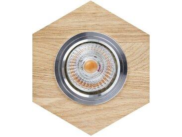 SPOT Light Deckenstrahler »Vitar«, Inklusive austauschbare LED-Leuchtmittel, Naturprodukt aus Eichenholz, Naturprodukt - nachhaltig, Made in Europe