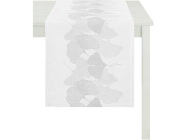 APELT Tischläufer »2900 Loft Style« (1-tlg), weiß, weiß-grau