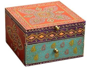 Casa Moro Schmuckkasten »Orientalischer Schmuckkasten Shanti mit einer Schublade, Aufbewahrung für Schmuck & Schminkutensilien, RK65«