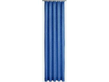 Wirth Vorhang »Trondheim 234 g/m²«, Kräuselband (1 Stück), blau, royalblau