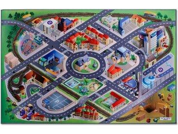 Floordirekt Kinderteppich »In der City Connect«, Höhe 2.3 mm