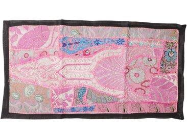Guru-Shop Wandteppich »Indischer Wandteppich Patchwork Wandbehang,..«, Höhe 45 mm