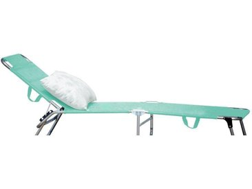 jankurtz Relaxliege »fiam amigo«, Dreibeinliege mit 3-fach verstellbarer Rückenlehne, blau, aqua