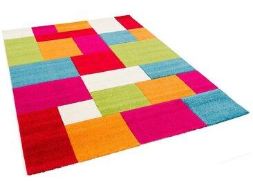 Pergamon Kinderteppich »Kinder Teppich Savona Kids Karo Design Multicolour«, Höhe 13 mm