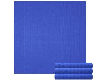 Lashuma Handtuch Set »Pure« (Set, 4-tlg), Geschirrtuch 4er Set, Küchentücher Waffelpique 50 x 50 cm, blau, königsblau