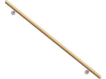 Dolle DOLLE Set: Handlauf 150 cm Gesamtlänge, Buche, braun, braun