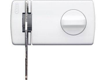 ABUS Türzusatzschloss »2130 B B/DFNLI«, Verriegelung innen mit Drehknauf, außen mit Schlüssel, weiß, weiß