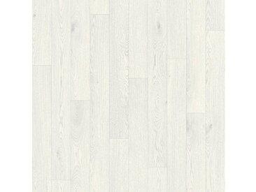 Andiamo Vinylboden »Impression«, Breite 300 und 400 cm, Meterware, Stabparkett, weiß, hellbraun-weiß