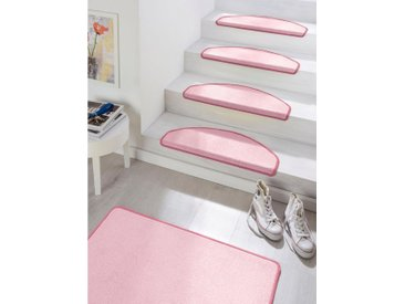 HANSE Home Stufenmatte »Fancy«, stufenförmig, Höhe 7 mm, rosa, rosa