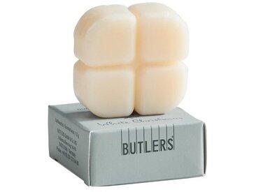 BUTLERS Duftlampe » SMELTS 12x Duftwachschips Vanille«, weiß, Creme