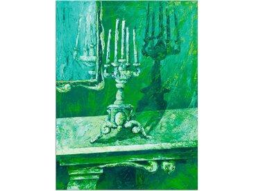 Artland Wandbild »Barocker Leuchter«, Innenarchitektur (1 Stück), Alu-Dibond-Druck
