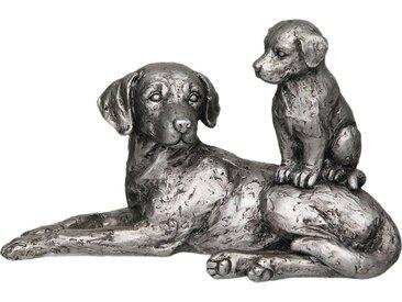 Home affaire Dekofigur »Hund mit Welpe«