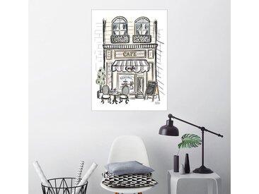 Posterlounge Wandbild, Café, Premium-Poster