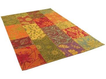 Pergamon Designteppich »Luxus Vintage Designerteppich Patchwork Bunt«, Rechteckig, Höhe 5 mm