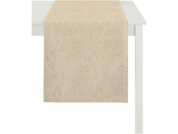APELT Tischdecke »3313 INDIAN SUMMER« (1-tlg), natur, creme
