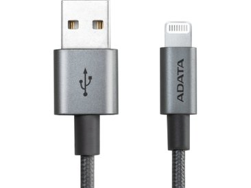 ADATA Adapter »Sync & Lade Lightning Kabel, 1 Meter«, grau, Grau