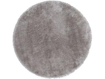 Andiamo Fellteppich »Lamm Fellimitat«, rund, Höhe 20 mm, Kunstfell, besonders weich durch Microfaser, natur, taupe