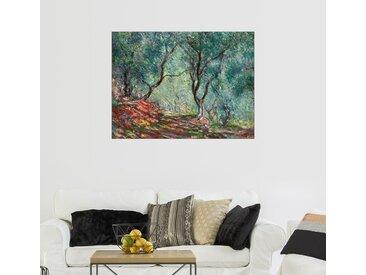 Posterlounge Wandbild, Olivenbäume im Moreno-Garten, Premium-Poster