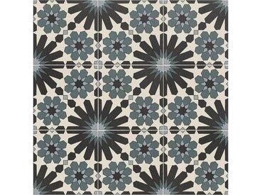 Casa Moro Fliesenaufkleber »Marokkanische Fliesen Meknes 20x20 cm 1 qm, Bodenfliesen & Wandfliesen für Bad & Küche, Schöne Küchenrückwand Badezimmer«