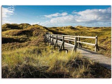 Artland Wandbild »Landschaft in den Dünen Insel Amrum«, Küste (1 Stück), Leinwandbild