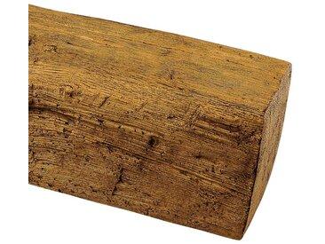 Homestar HOMESTAR Dekorpaneele 12 x 12 cm, Länge 2 m, Holzimitat, Eiche hellbraun, braun, hellbraun