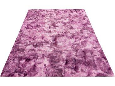 Obsession Fellteppich »My Camouflage 915«, rechteckig, Höhe 17 mm, Kunstfell, ein echter Kuschelteppich, lila, lila