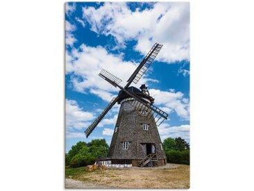 Artland Wandbild »Windmühle in Benz auf der Insel Usedom«, Gebäude (1 Stück), Leinwandbild