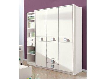Wimex Kleiderschrank »Jalta«, weiß, Türen: 3, weiß uni