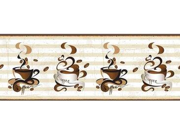 Fototapete »Tassen Kaffee«, für Küchenrückwand, Büro oder Wohnzimmer