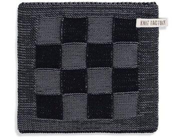 Knit Factory Tischdecke »Topflappen Block Schwarz/Med«