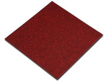 casa pura Teppichfliese »Astra«, quadratisch, Höhe 5 mm, Selbstliegend, rot, Rot 320
