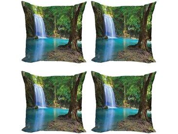 Abakuhaus Kissenbezug »Modern Accent Doppelseitiger Digitaldruck«, Wasser Asien Thailand Jungle Bäume
