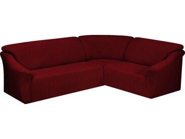 Dohle&Menk Sofahusse »Creta«, hochwertige Stretchware, rot, Ecksofahusse, rot