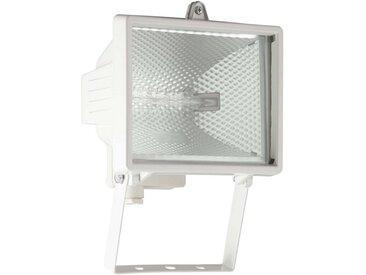 Brilliant Leuchten Tanko Außenwandstrahler 25cm weiß, weiß, weiß