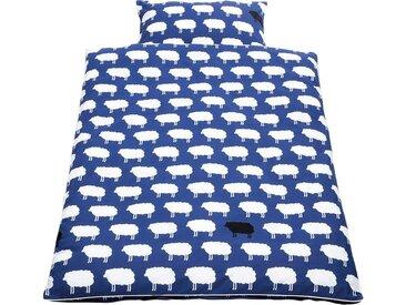 Pinolino® Babybettwäsche »Happy Sheep«, mit hochwertiger Paspelkonfektion